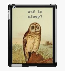 Sleep-Owl iPad Case/Skin
