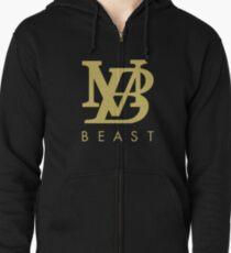 b0a60ce65f4 Mr beast Fashion Beast Zipped Hoodie