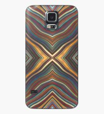 Wild Wavy X Lines 63 Case/Skin for Samsung Galaxy