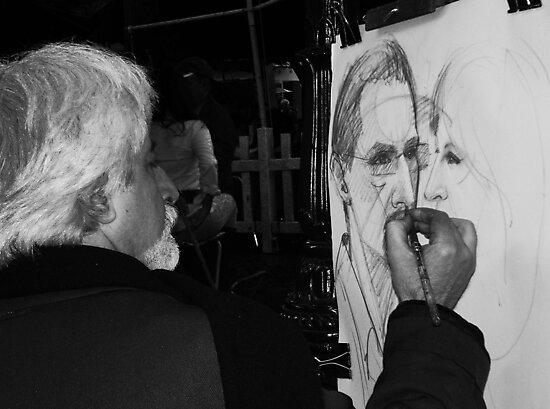 Sketching by Mojca Savicki