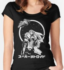 Interstellar Bounty Hunter Women's Fitted Scoop T-Shirt