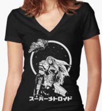 Interstellar Bounty Hunter Women's Fitted V-Neck T-Shirt