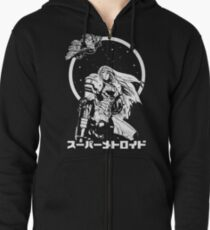 Interstellar Bounty Hunter Zipped Hoodie