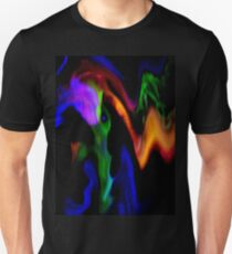 Spreading Gaseous Clouds Slim Fit T-Shirt