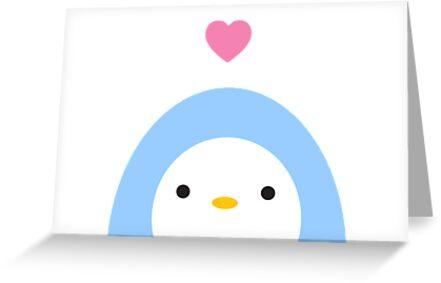 Penguin Love by imaginarystory