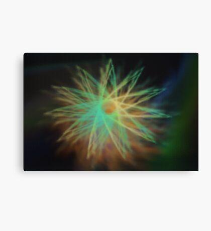 Electrical Star Canvas Print