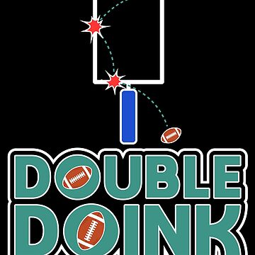 Double Doink Design for American Football Fans by mrhighsky