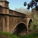 Fyansford Bridge,Geelong by Joe Mortelliti