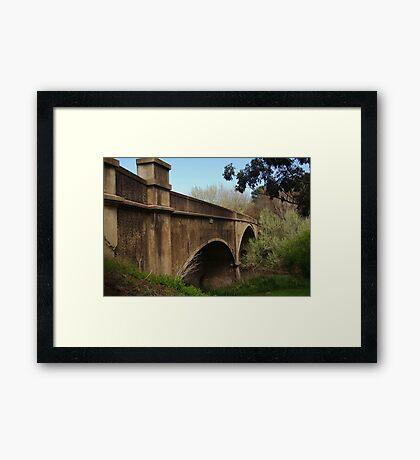 Fyansford Bridge,Geelong Framed Print