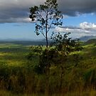 Looking towards Townsville from Pipers Lookout - Hervey Range by Paul Gilbert
