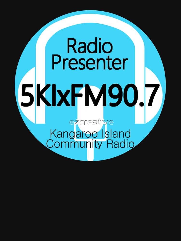 5KIxFM Kangaroo Island Community Radio Presenter by ezcreative