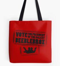 Vote Beeblebrox  Tote Bag