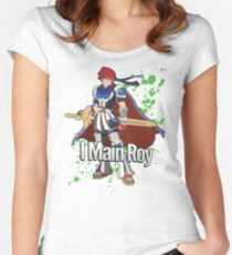 I Main Roy - Super Smash Bros. Women's Fitted Scoop T-Shirt