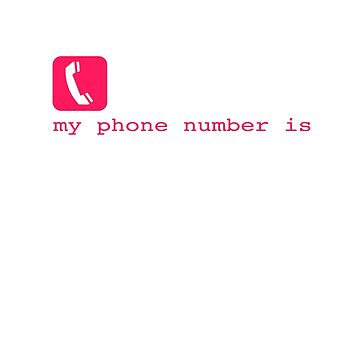 My Phone Number by sajeevcpillai