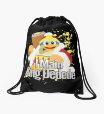 I Main King Dedede - Super Smash Bros. Drawstring Bag