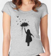 Umbrella II Women's Fitted Scoop T-Shirt