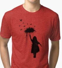 Umbrella II Tri-blend T-Shirt