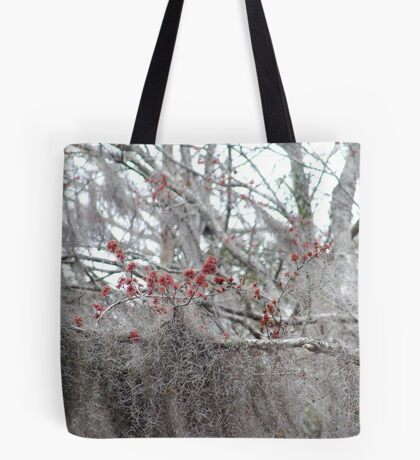 Maple Tree Buds and Spanish Moss Tote Bag