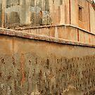 Church Wall, Tucson, Arizona by fauselr