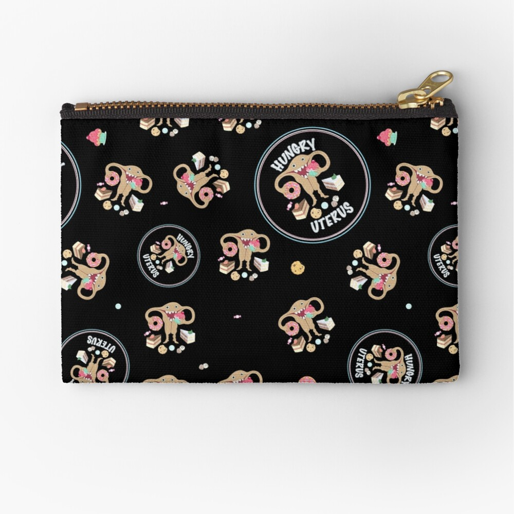Hungry Uterus Sweet! Zipper Pouch