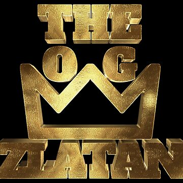 The O.G. King Zlatan Golden With Big Crown by Under-TheTable
