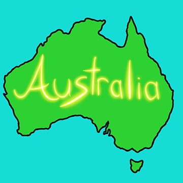 Australia  by Its-Popcoin