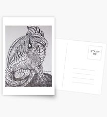 Peaceful Dragon Postcards