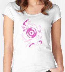 Conjectural Mythology-- Pink Women's Fitted Scoop T-Shirt