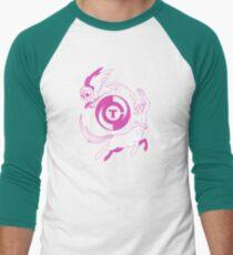 Conjectural Mythology-- Pink Men's Baseball ¾ T-Shirt