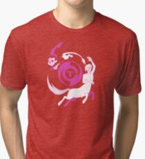 Conjectural Mythology-- Pink Tri-blend T-Shirt