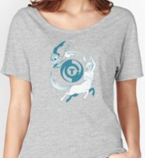Conjectural Mythology-- Blue Women's Relaxed Fit T-Shirt