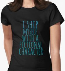 i ship myself with a fictional character T-Shirt