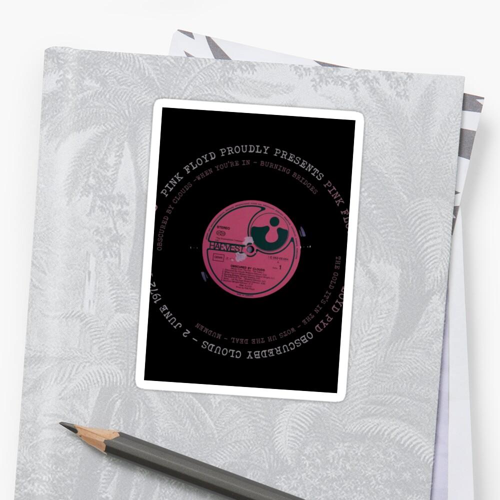 Pink Floyd Vinyl | Sticker
