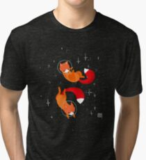 Space Foxes Tri-blend T-Shirt