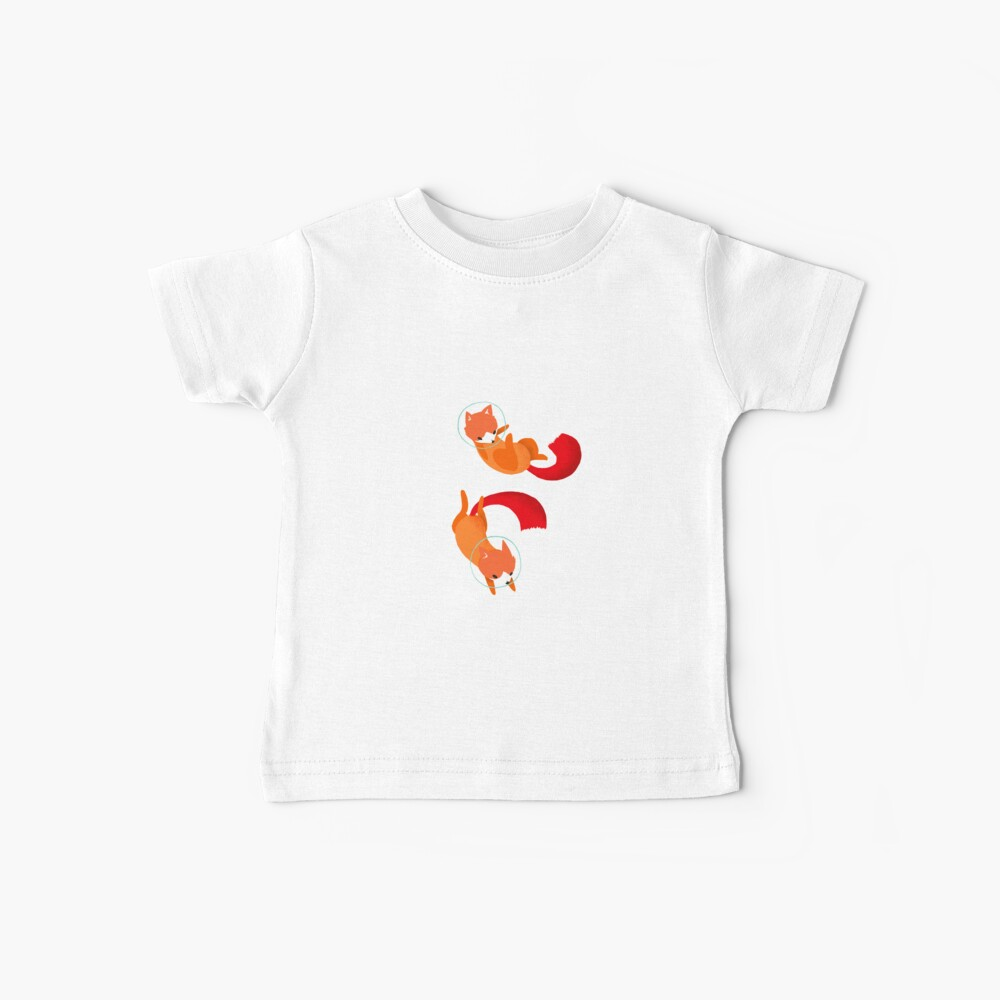 Space Foxes Baby T-Shirt