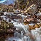Falls at Glencoe by Dave Hare