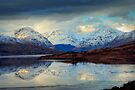 Loch Arklet and the Arrochar Alps by David Mould