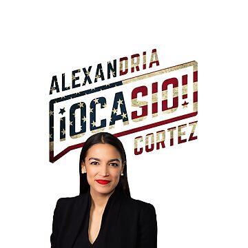 Alexandria Ocasio-Cortez by ValentinaHramov