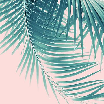 Palm Leaves Summer Vibes #11 #tropical #decor #art  by anitabellajantz