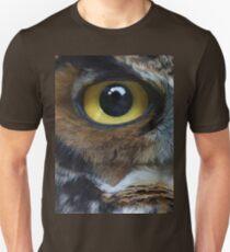 Great Gray Owl Eyes T-Shirt