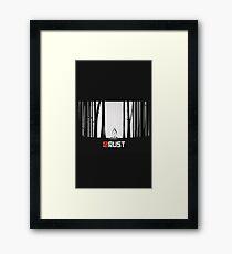 Rust Game Artwork Framed Print