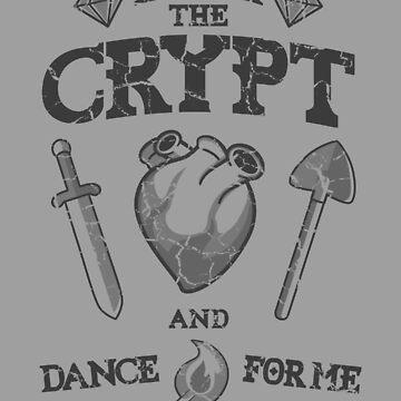Enter the crypt. (dark) by jcmaziu