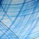 Blue Poles by Marguerite Foxon