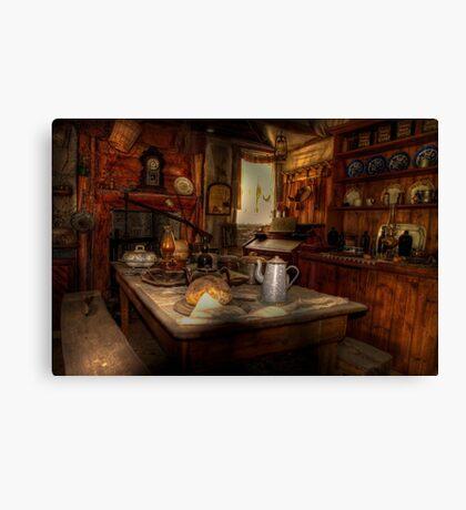 Kate's Cottage ~ Kitchen Canvas Print