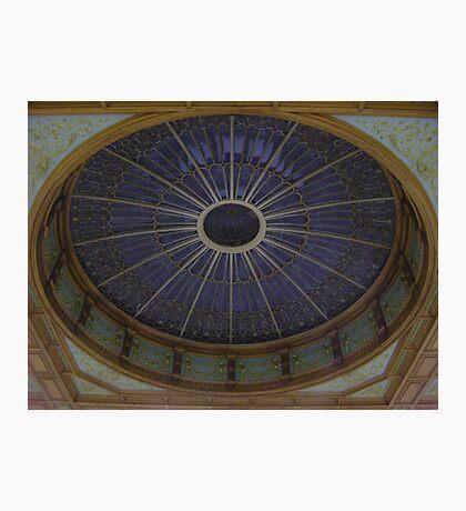 Ceiling Roundel (Waverley Railway Station, Edinburgh) Photographic Print