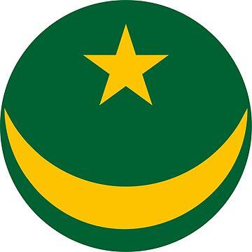 Mauritania country roundel by tony4urban