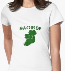 """Saoirse """"Freedom"""" in Gaeilge Women's Fitted T-Shirt"""