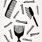 Good Hair Day - Schwarze Palette von Cat Coquillette