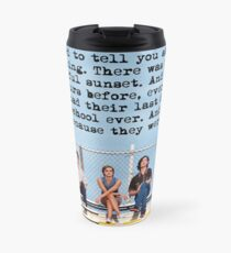 I wanted to tell you about us running  Travel Mug