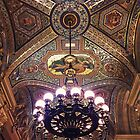 painted ceiling by psychoshadow